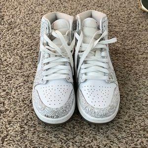 Nike Air Jordan Laser 1's